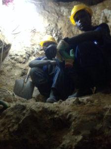 Afryka górnicy