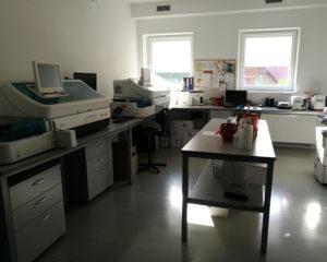 Biuro laboratorium
